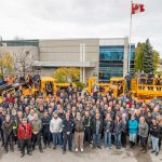 MacLean celebrates two production milestones: Scissor Truck 200 and Boom Truck 100 designed, manufactured, sold and shipped right here in Canada