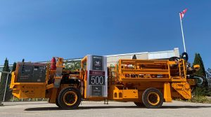 MACLEAN MARKS PRODUCTION MILESTONE FOR A PARADIGM CHANGER IN UNDERGROUND MINING
